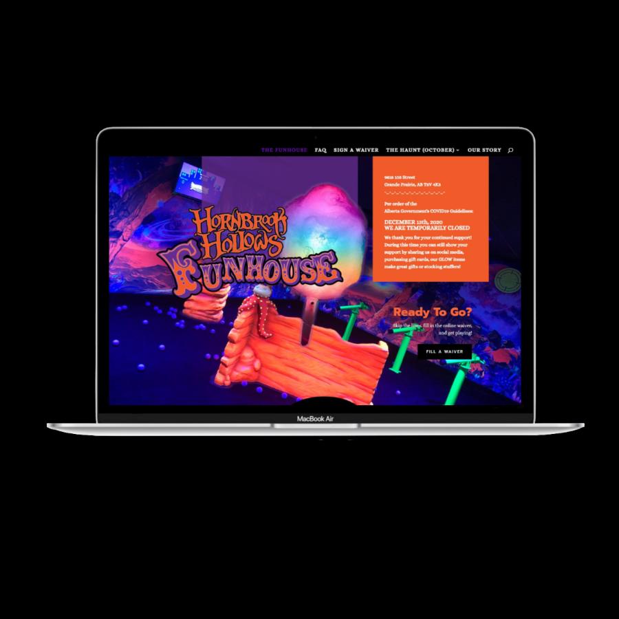 Hornbrook Hollow Funhouse Website